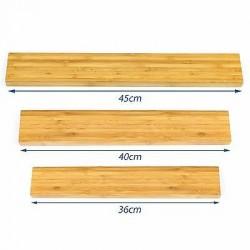 3 x Magnetleiste Bambus Set...